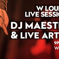 W Lounge Live Sessions ft DJ Maestro &amp Bahghi Yemane