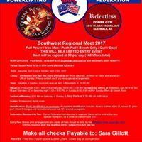 Southwest Regional Meet Finals 2017 - Weightlifting