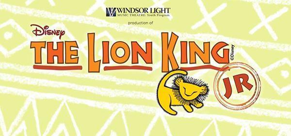 Disneys The Lion King Jr.