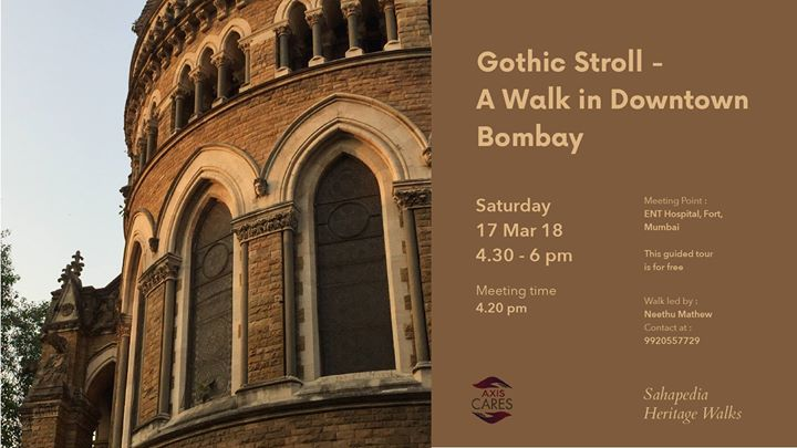 Gothic Stroll - A Walk in Downtown Bombay