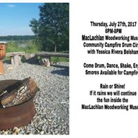 FREE Community Campfire Drum Circle With Yessica Rivera Belsham