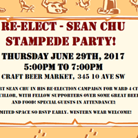 Re-Elect Sean Chu for Ward 4 Stampede Party