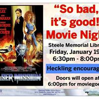 So bad its good Movie Night - Laser Mission