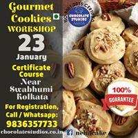 GOURMET COOKIES WORKSHOP ON 23rd JANUARY