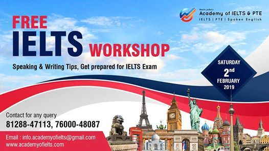 Free Workshop On IELTS - Speaking & Writing Tips