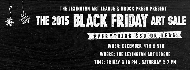 Black Friday Art Sale At Lexington Art League Lexington