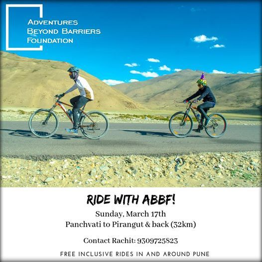 Ride with ABBF - Mar. 17 2019