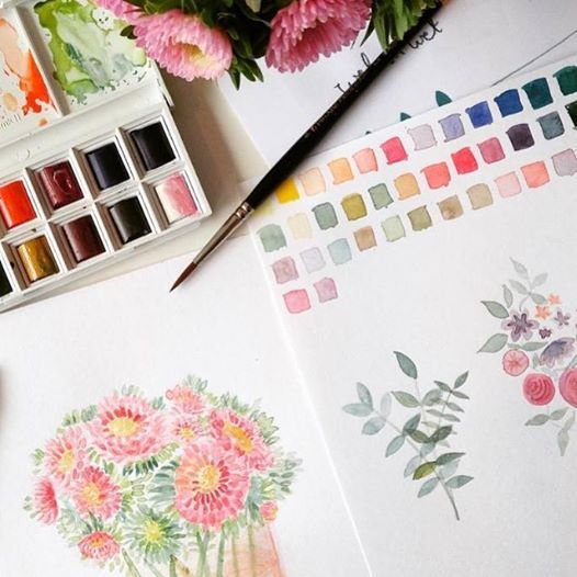 Watercolours Workshop with Emma Block