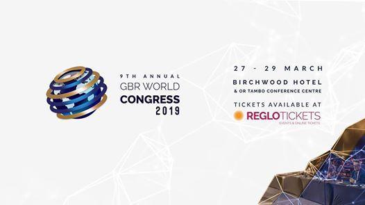 Le 9me Congrs & Exposition Mondial GBR 2019