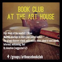 August Book Club  The Art House
