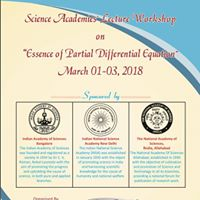 Workshop on &quotEssence of Partial Differential Equations&quot