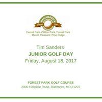 Tim Sanders Junior Golf Day 2017