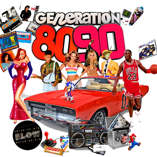 Gnration 80 & 90s Vido Party New Year edition