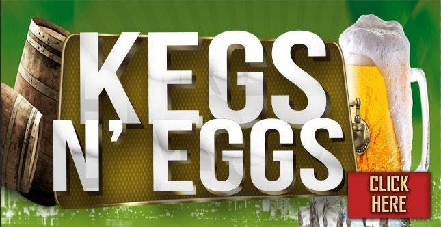 Kegs and Eggs St. Paddys Pregame at LAX on Lark