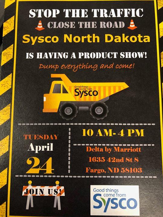 Sysco North Dakota Product Show at Delta Hotels by Marriott Fargo, Fargo