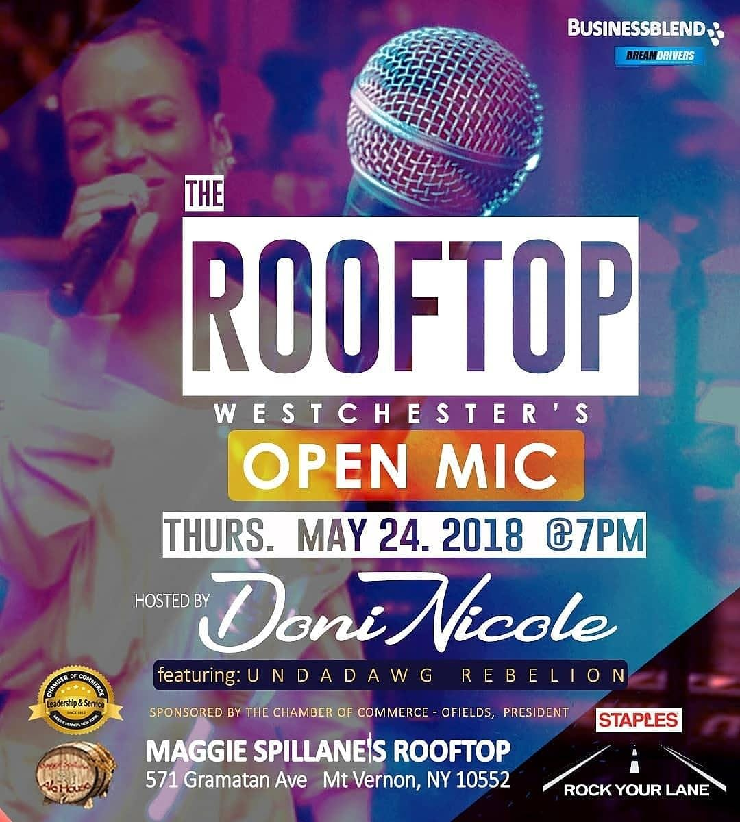 The Rooftop Westchesters Open Mic