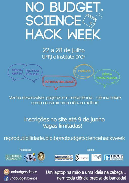 No-Budget Science Hack Week