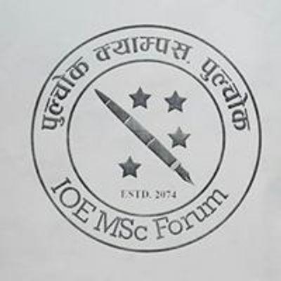 IOE MSc Forum