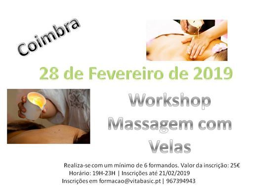Workshop Massagem com Velas