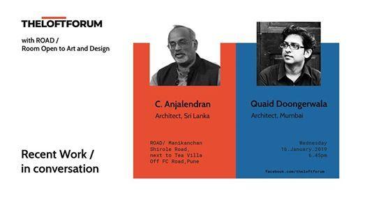 Talks  C. Anjalendran  Quaid Doongerwala Architects