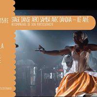 Stage danse afro samba avec Dandha - Il Aiy