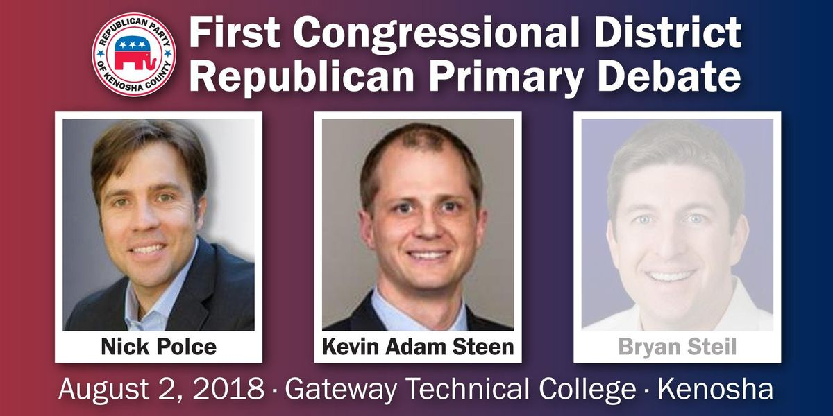 1st Congressional District Republican Primary Debate at