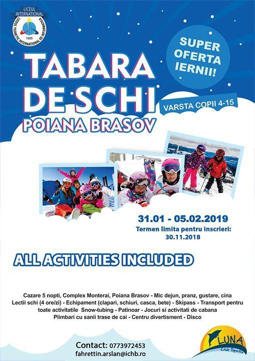 Tabara de schi 2018-2019