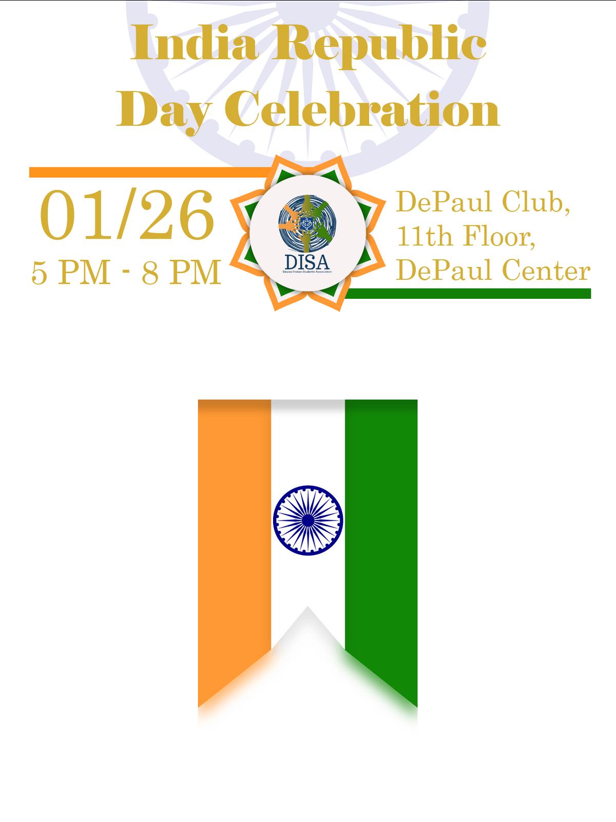 DISA India Republic Day Celebration