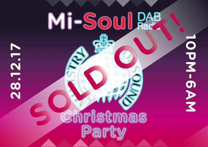 The Mi-Soul Radio Christmas Party