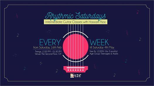 Rhythmic Saturdays Intermediate Guitar Classes with Hassam Ajaz