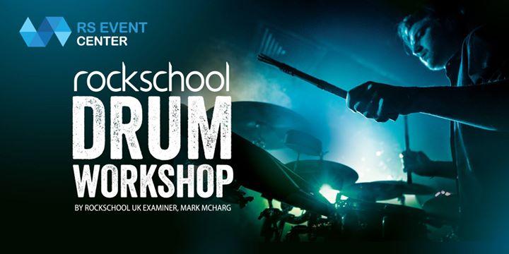 Rockschool Drum Workshop by Mark McHarg