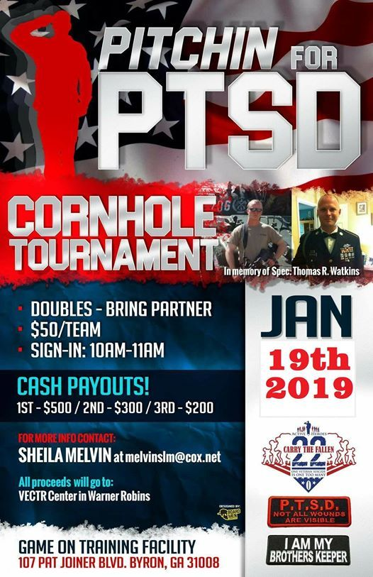 5th Annual Pitchin 4 PTSD Tournament