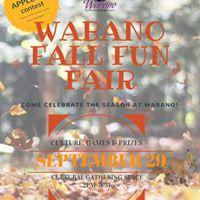 Wabano Fall Fun Fair