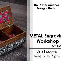 Metal Engraving Workshop