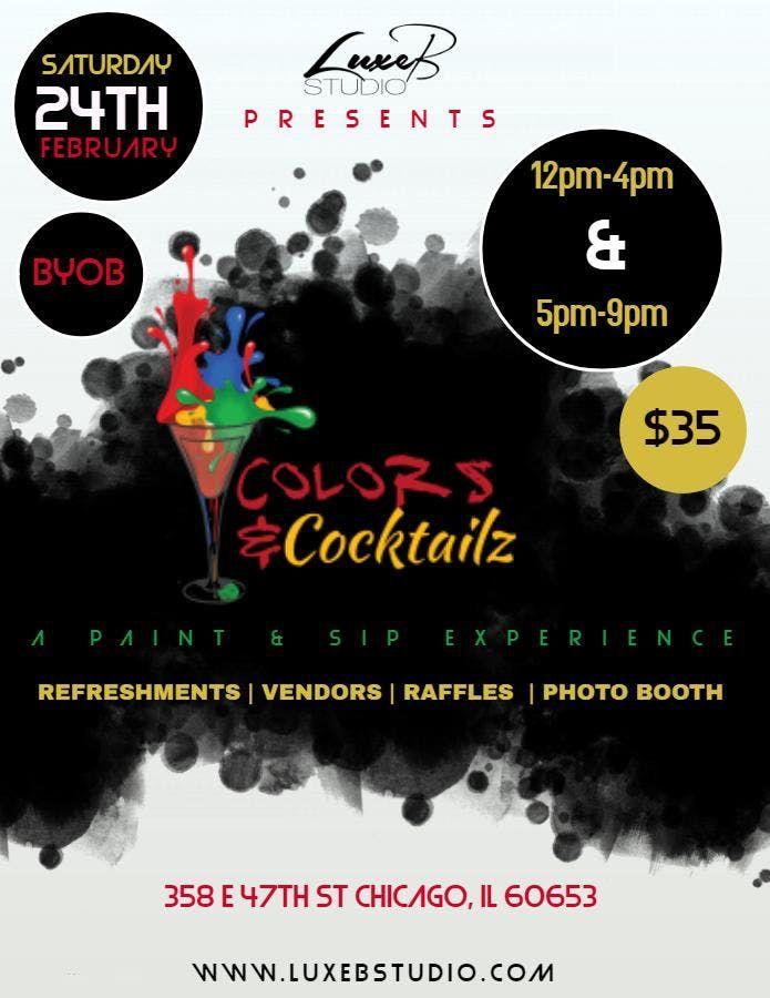 Colors & Cocktailz Paint Party Experience