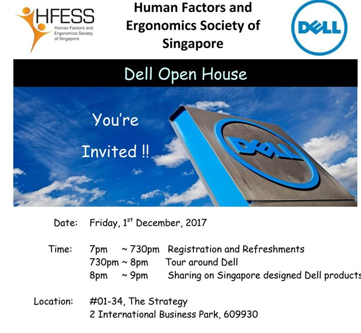 DELL Openhouse For HFESS Members