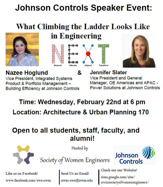 Johnson Controls Speaker Event at UWM - Architecture & Urban