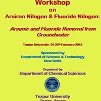 Workshop on Arsiron Nilogon &amp Fluoride Nilogon