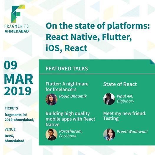 State of platforms  Fragments Ahmedabad