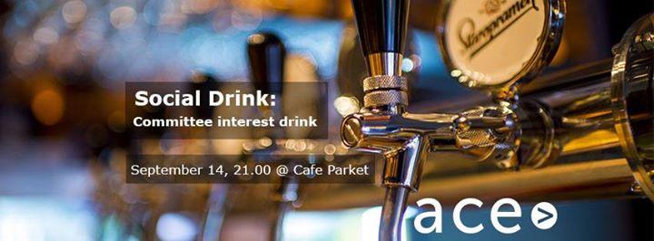 Social Drink Committee interest drink