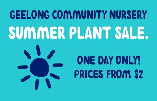 genU Geelong Community Nursery  Summer Plant Sale