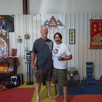 Guro Ray Parra at the Athens Karate School Athens Texas