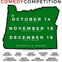 Western Oregon Comedy Competition - The Finals (McMinnville OR)