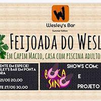 Feijoada do Wesleys Bar - Summer Edition -