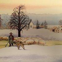 Winterlandschaften von Karl Bischof Vernissage