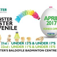 Leinster Easter Juvenile Yonex Open 17 - U11131517