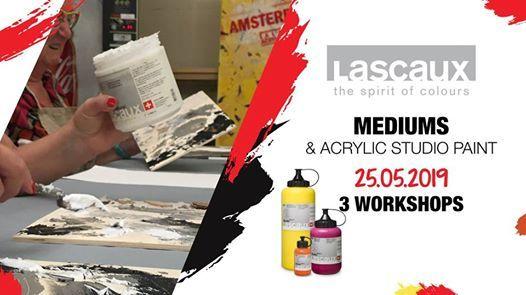 Workshop Lascaux - Mediums & Acrylic Paint