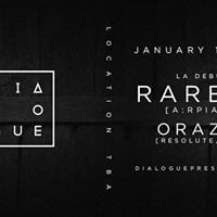 Dialogue Presents  Raresh [arpiar]  L.A. Debut