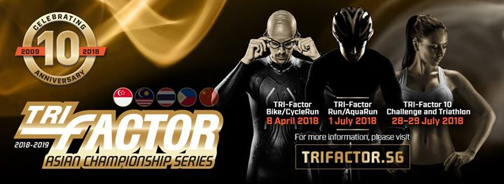 Tri-Factor Triathlon 29 July 2018 - Standard Distance