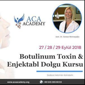 Dolgu Botox Kursu - stanbul